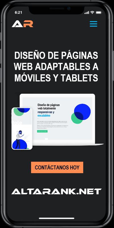 diseño paginas web responsive